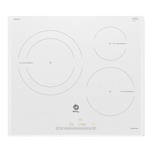 Balay 3EB965BU hobs Blanco Integrado Con - Placa (Blanco,