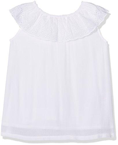 ESPRIT KIDS Mädchen RL1206303 Bluse, Weiß (White 010), 92 (Herstellergröße: 92/98)