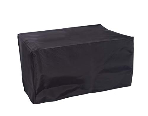 The Perfect Dust Cover, Ant Static Cover for HP OfficeJet Pro 8725 All-in-One Wireless Printer, Black Nylon Waterproof Cover Dimensions 19.7''W x 17.7''D x 13.5''H by The Perfect Dust Cover LLC