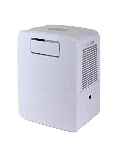 HUKITECH 4in1 Klimagerät Frost 3000 – NUR 307 Watt Stromverbrauch ! - NUR 49-50 dB (A) bei 1 m Entfernung (!) - Kühlung Heizung Luftbefeuchtung 2 Kühlmöglichkeiten Klima Gerät