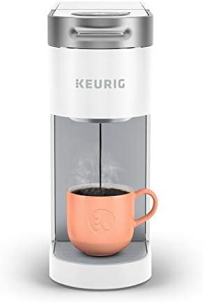 Keurig K Slim Coffee Maker Single Serve K Cup Pod Coffee Brewer 8 to 12oz Brew Sizes White product image