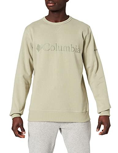 Columbia M Columbia Polar de cuello redondo con logotipo para hombre