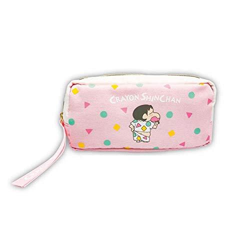 マリモクラフト クレヨンしんちゃん パジャマ柄ポーチ ピンク CRS-189
