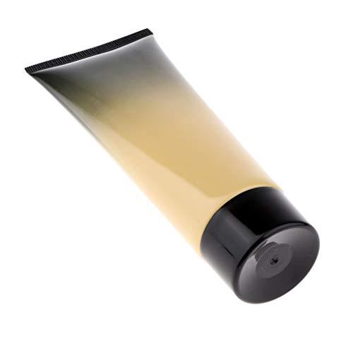 MERIGLARE Bouteilles De Compression Liquides En Plastique Transparent En Plastique Transparent Lotion Crème - Noir