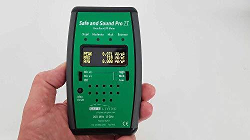 Safe and Sound Pro 2 Hochfrequenz Elektrosmog Messgerät von deutschem Fachhändler