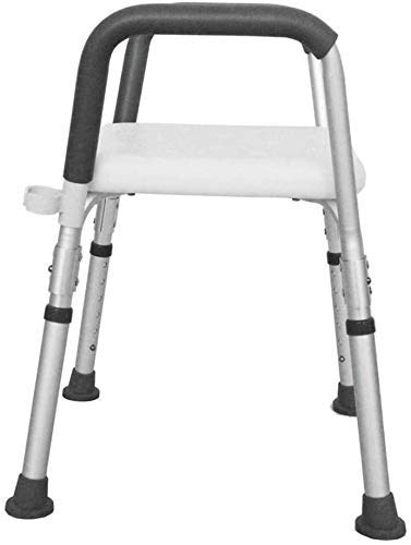 ZXY-NAN Bathroom Wheelchairs Shower Chair, Bathroom Stool with Armrests Adjustable Anti-Slip Stool Bathroom Chair Suitable for The Elderly, Pregnant Women, Children, Disabled