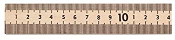 School Smart 081901 Wooden Meter Stick with Plain Ends,Natural
