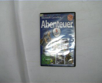 Microsoft Gamebox, Abenteuer, 5 PC-Spiele Paket, Ultimate Motocross, Waldmeistersause, Jet Simulator 2010, Age of Knights, Tell,