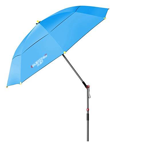 Sombrilla Parasol para Jardin Terraza Sombrillas Resistentes A Los Rayos UV Con Inclinación De 360 ° Para Pesca, Playa, Patio Y Terraza - Sombrillas De Mesa De Mercado Pequeñas Para Bar, Mesa De Bistr