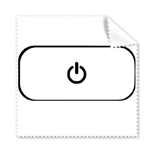 DIYthinker Toetsenbord Symbool Power Bril Doek Schoonmaken Doek Gift Telefoon Screen Cleaner 5 Stks