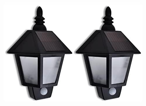 Outdoor Lighting, Solar Wall Lamp with...