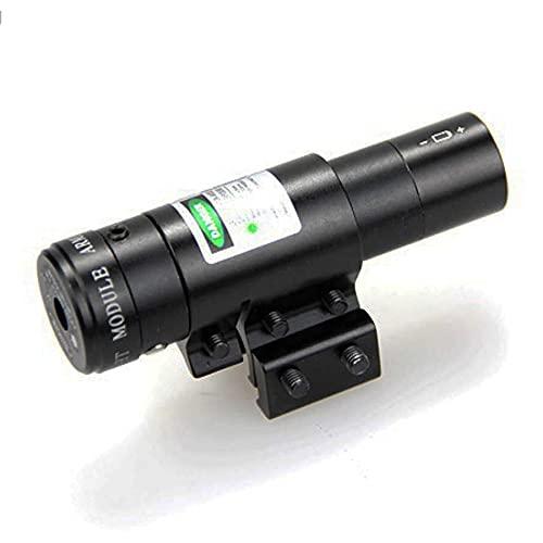 Visor láser Verde de Largo Alcance para Pistolas de balines, carabinas y Rifles de Airsoft (para Actividades Deportivas)