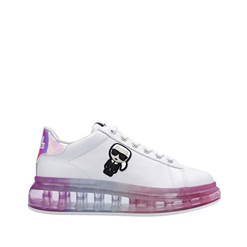 KARL LAGERFELD Kapri Kushion Sneaker Karl Iconic White Iridescent KL62689 39