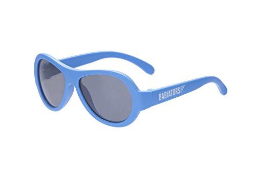 babi ators Unisex Baby Original Aviators UV Gafas de Sol, Unisex bebé, BAB-030/ONESIZE, True Blue, 0-2 Años