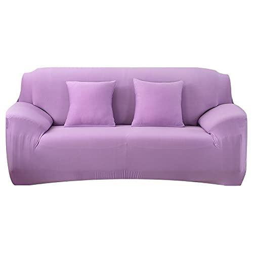 WXQY Bunt bedruckter Sofabezug fest gewickelter All-Inclusive segmentierter elastischer Kissenbezug rutschfestes Sofabezug-Set A3 4-Sitzer