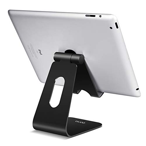 Eono Essentials Tablet Ständer, Tablet Staender Verstellbare : Universal Halter, Halterung, Dock für 2018 Pad Pro 10.5/9.7, Pad Air 2 3 4, Pad Mini 2 3 4, Samsung, Huawei andere Tab 5