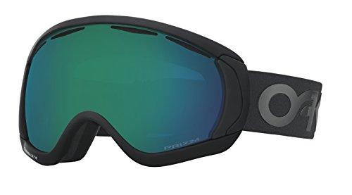 Oakley Herren Canopy 704768 0 Sportbrille, Schwarz (Factory Pilot Blackout/Prizmjadeiridium), 99