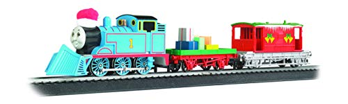 Thomas & Friends - Thomas' Christmas Delivery - Loco W/Moving Eyes - HO Scale