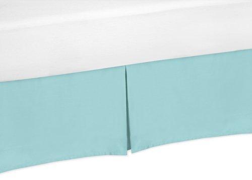 Turquoise Queen Bed Skirt for Modern Emma Kids Teen Bedding Sets
