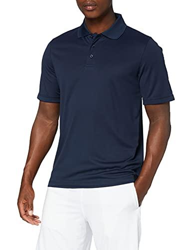 Stedman Apparel Active 140 Polo/st8450 - Polo - coupe droite - Manches Courtes Homme - Bleu - Marina Blue - Large