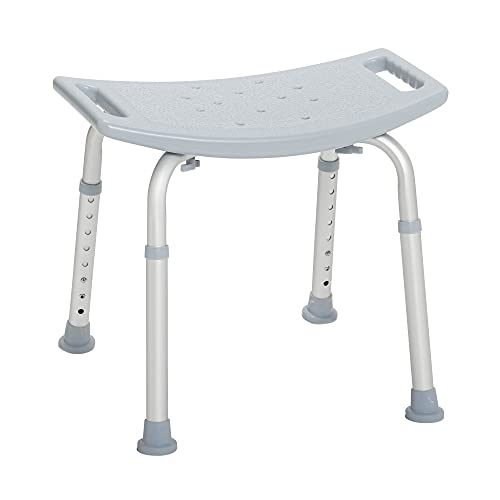 Drive Medical Bath Bench Without Back, Gray