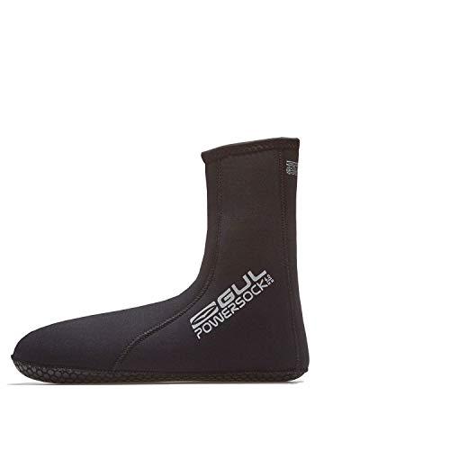 GUL 4mm Power Socken Socken - Schwarz - Unisex - Mit Free-Flex Fersen- und 4mm und griffigem Dura-Skin-Sohlendruck