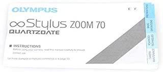 Olympus Infinity Stylus Zoom 70 QD CAMERA MANUAL