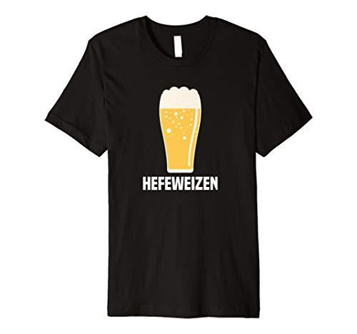 Hefeweizen Deutsche Weizen Bier Pint Glas Graphic Tee