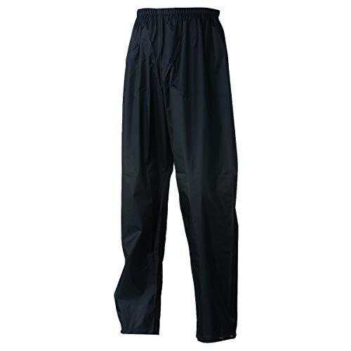 AGU Basic Regenhose Essential | Wind- und Wasserdicht | Schwarz | M