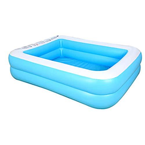 XHONG Piscina inflable familiar, Piscinas inflables para niños, centro de natación volar piscina familiar piscina de bolas marinas, 50 pulgadas