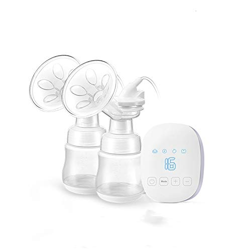 Best Deals! CVEUE BP Breast Pumps Electric Breast Pump Dual Suction Bilateral Electric Breast Pump T...