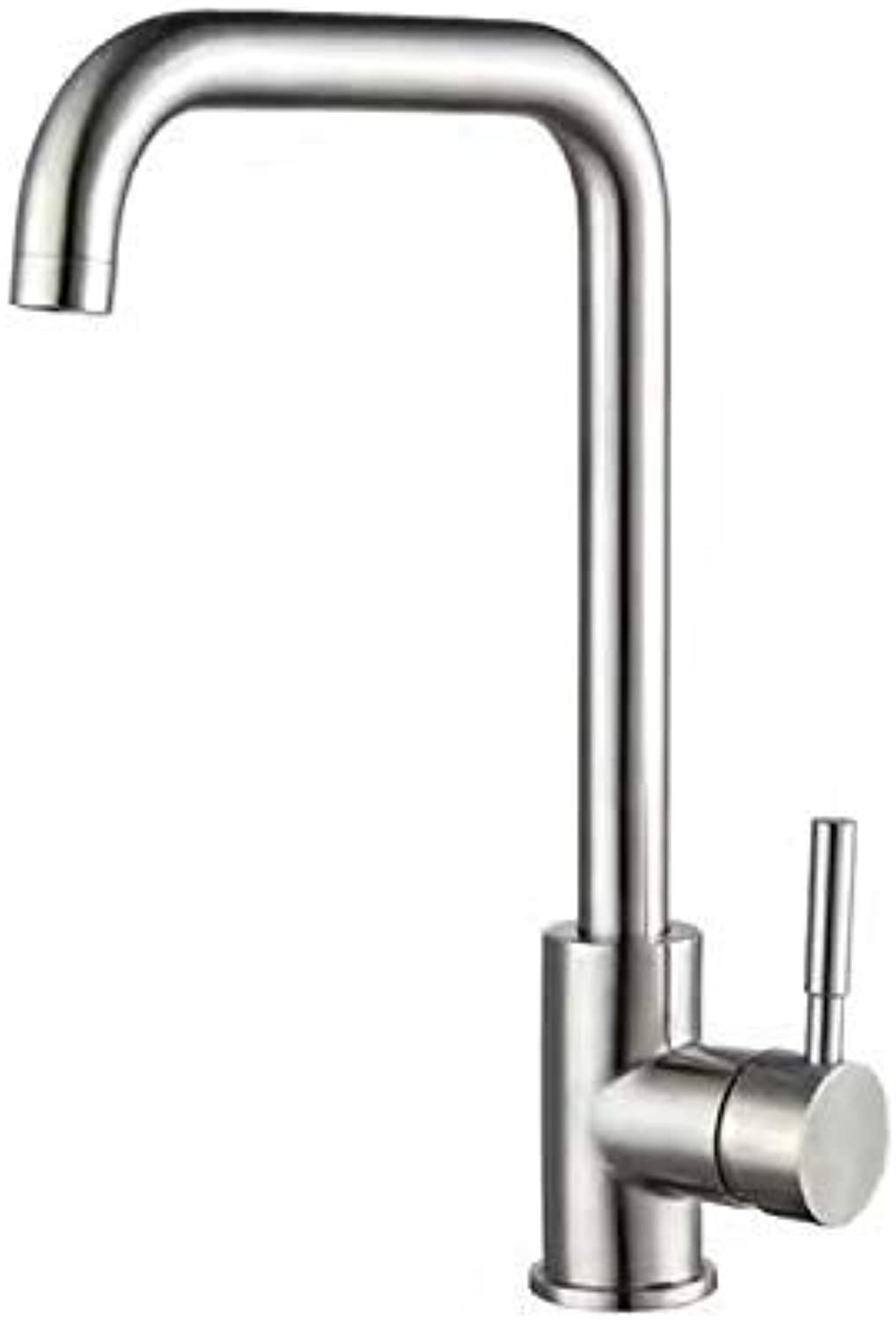 Oudan 304 Stainless Steel Kitchen Faucet Hot and Cold Water of Mouth Dual Twentysomething (color   -, Size   -)