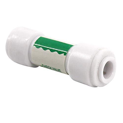 """Vaugan Válvula de retención de 1/4"""" para sistema de ósmosis inversa de agua sin retorno accesorios"""