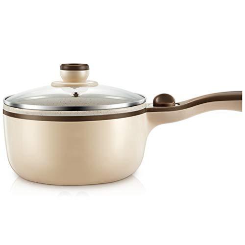 Multifunctionele reiskoker-slaapzaalstudent, de kleine elektrische pan van pastaartfacetten kookt een kleine kleine hete minipotpot 1,5 l kookt, b