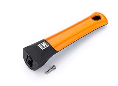 BRA Mango sartén Efficient Orange Aluminio