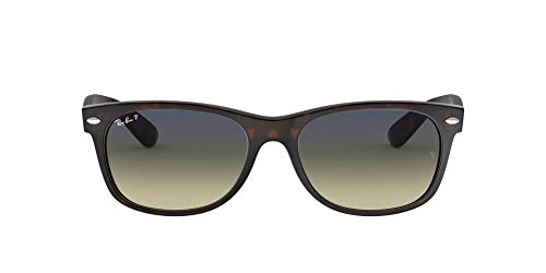 Ray-Ban New Wayfarer, Gafas de Sol Unisex adulto, Multicolor (Tortoise 894/76), 55 mm