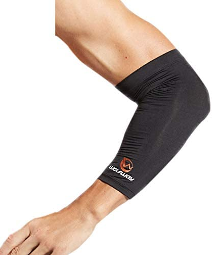 WOLFWAY Compression Elbow Sleeve Copper Arm Support for Pain Relief Men Women Tennis Tendonitis product image