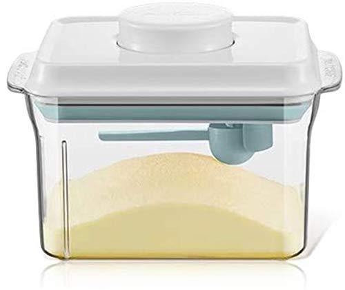 Nocsm Dispenser per Latte in Polvere da 1000 ml, Contenitore in Polvere sigillato, Contenitore per Alimenti in Polvere Portatile per Latte in Polvere, Sigillo a Prova d'umidità.