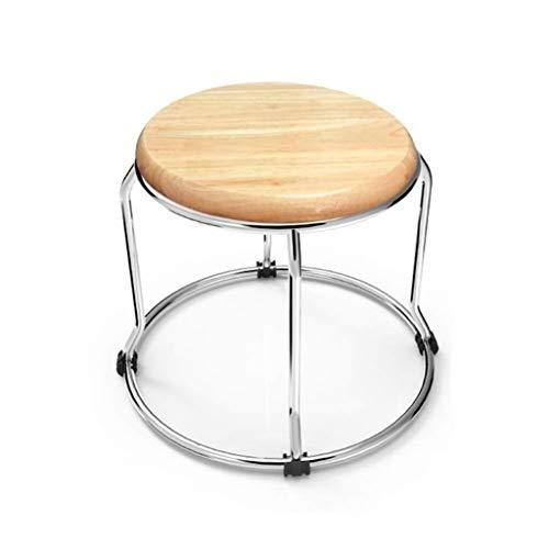 LBWT Multifunctionele stoel - Eettafel Kruk Effen Houten Kruk Vouwen Kleine Kruk Stijlvolle Minimalistische Moderne Eetstoel