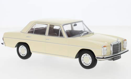 Mercedes 200 D (W115), beige, 1968, Modellauto, Fertigmodell, WhiteBox 1:24