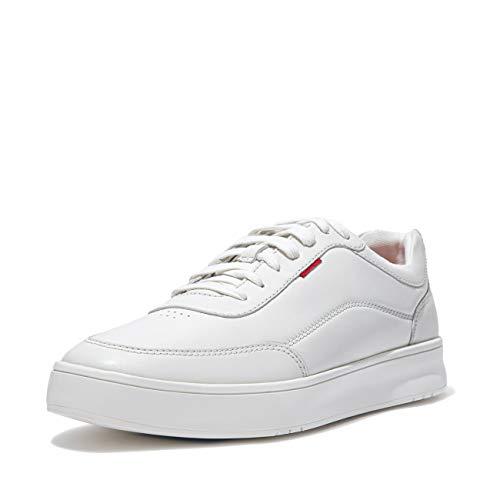 Fitflop Heren Rally Sneaker, Wit, 11.5 UK