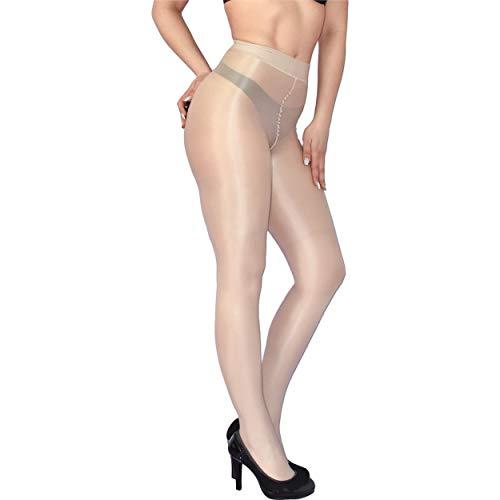 dikke glanzende panty 70 DEN, maat S, glanzende satijnglanzende panty