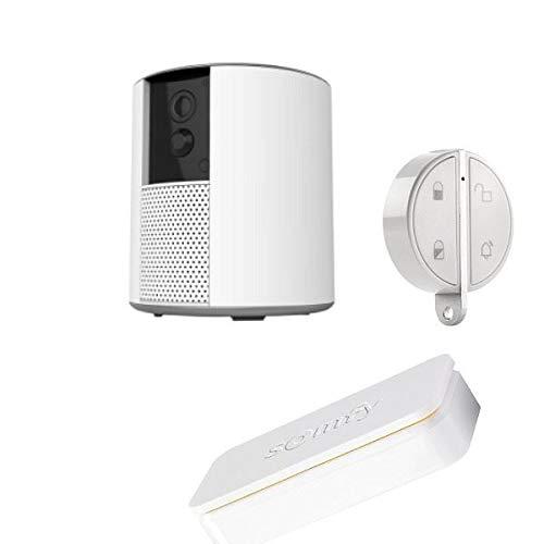 Somfy One+,idem, include fotocamera, sirena, rilevatore anti-intrusione. SOMFY