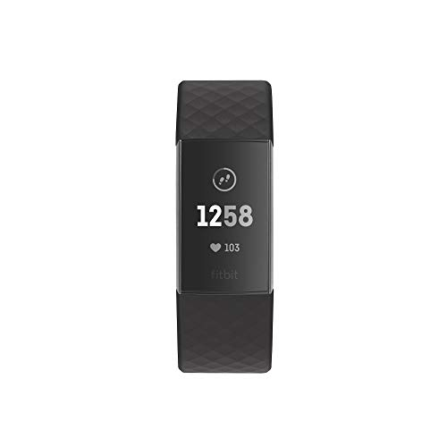 Bracelet Fitbit Charge 3 Exercices Nage Sommeil Fréquence Cardiaque - 2