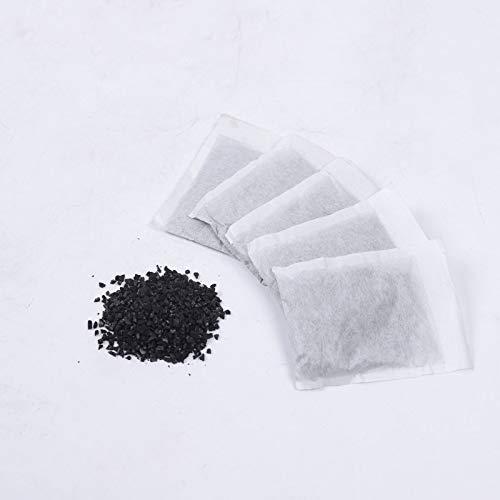 DIFU 20PCS Wasser Aktivkohlefilter Entkalkungsmittel Distiller Activated Carbon Filters Packs Bags Removing Compoud