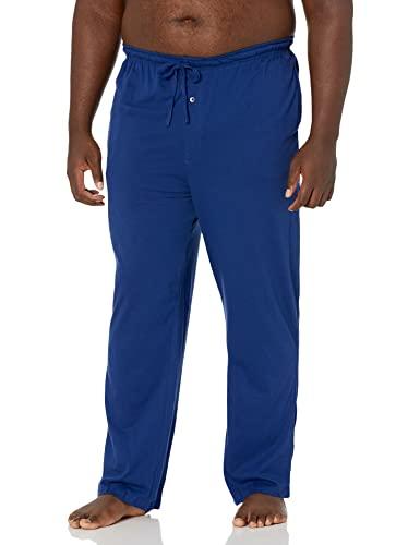 Amazon Essentials Knit Pant pajama-bottoms, blau, US XXL (EU XXXL-4XL)