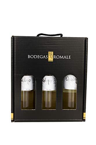 Viña Romale – Vino Blanco Verdejo Seco Pack de 3 Botellas en...