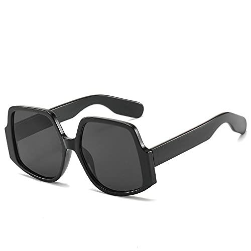 HAOMAO Conducción Uv400 Gafas de sol fotocromáticas de gran tamaño geométricas para mujeres y hombres Gafas Punk Gafas 1
