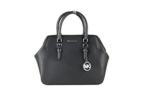 Michael Kors Charlotte, Sling Bag para Mujer, Negro, Einheitsgröße