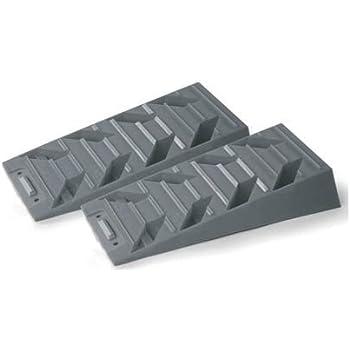 Coppia cunei Level Up con sacca Cunei livellatori pratici ed efficaci in materiale plastico antiscivolo completi di sacca per un facile stivaggio
